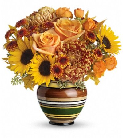 Teleflora's Harvest Stripes Bouquet