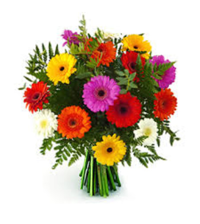 Vibrant Gerbera Daisy Bouquet
