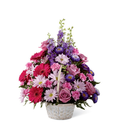 The FTD® Pastel Peace™ Basket