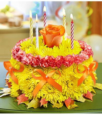 Birthday Flower Cake® for Fall