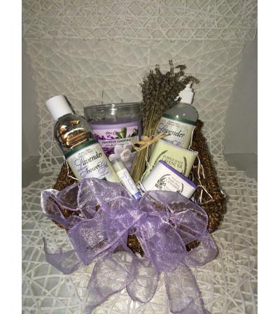 Luscious Lavender Gift Basket