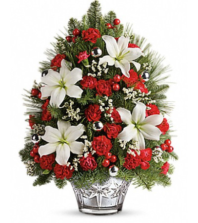 Teleflora's Festive Trimmings Tree