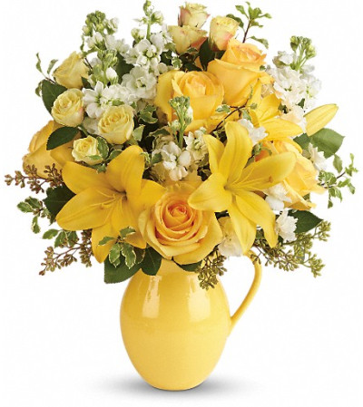 Teleflora's Sunny Outlook Bouquet