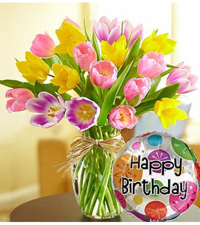 Timeless Tulips® Happy Birthday