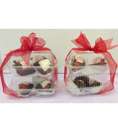 Dozen Strawberry Tuxedo Delights