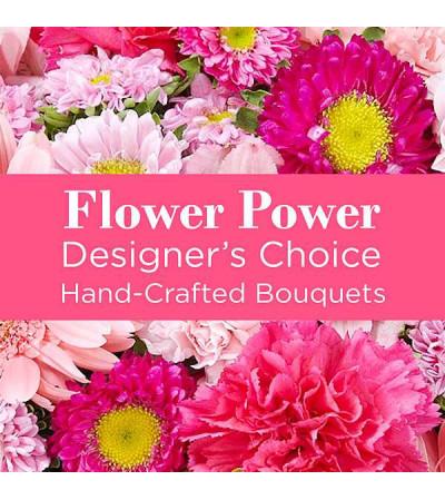 Pink Colors Florist Designed Bouquet
