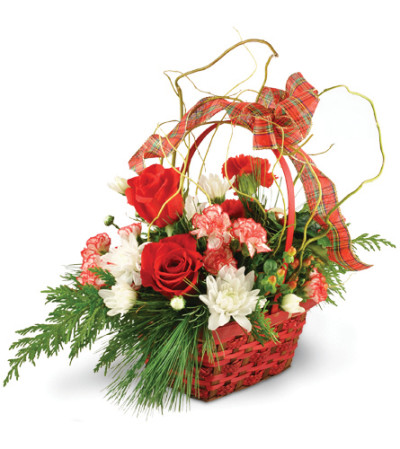 Peppermint Twist Basket