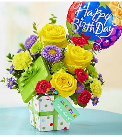 """Celebrate the Day"" Bouquet - Deluxe"