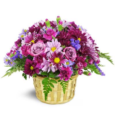 Amethyst Skies Basket™