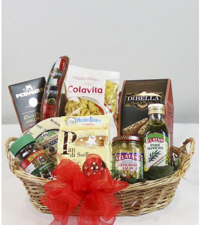 Italian Basket by Fruits & Flowers