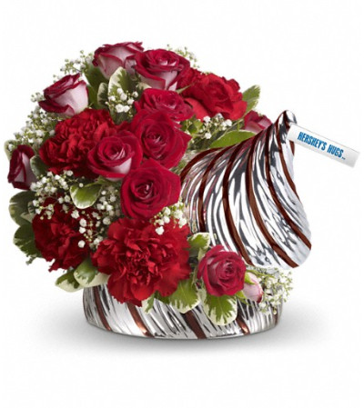 HERSHEY'S HUGS™ Bouquet by Teleflora