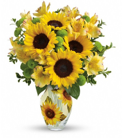 Teleflora's Soak Up The Sun Bouquet