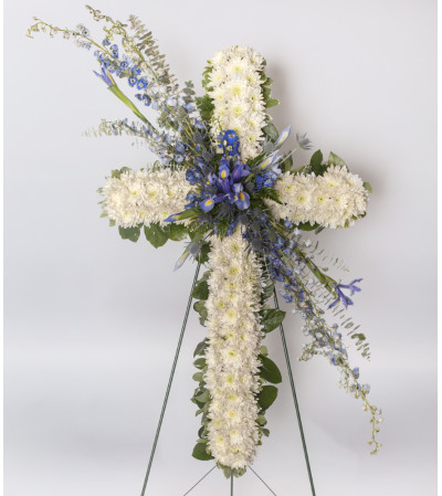 Cross - Funeral Spray