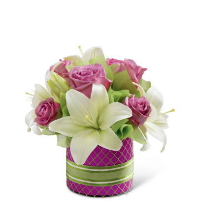 The FTD® Starshine™ Pink Bouquet