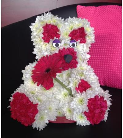 """""""Daisy"""" the Bear - Floral Teddy"""