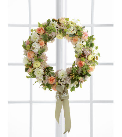 The FTD® Garden Splendor™ Wreath
