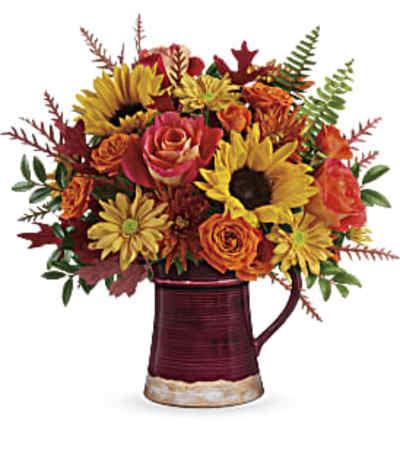 Teleflora's Bounty Of Blooms Bouquet