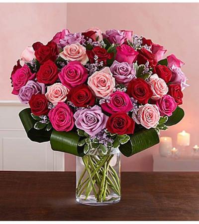 Dazzling Romance Rose Bouquet™