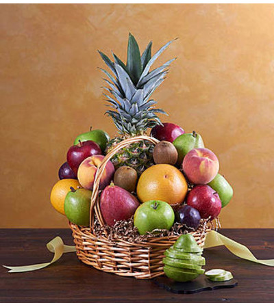 Deluxe All Fruit Basket for Sympathy