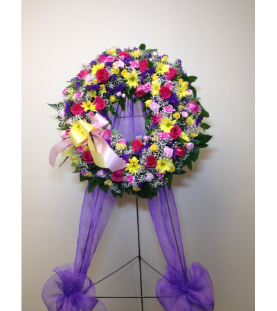 Loving Memories Wreath