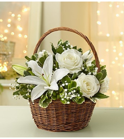 All White Basket