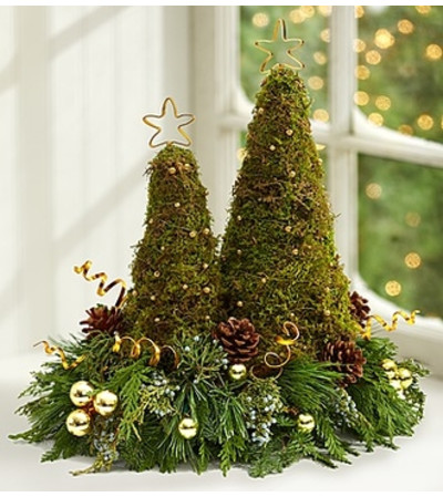 Contemporary Christmas Trees