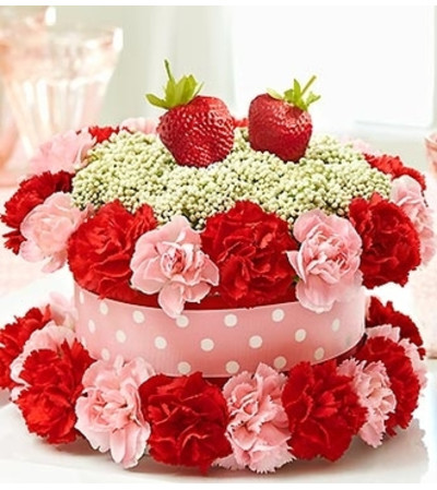 Fresh Flower Cake™ Strawberry Shortcake