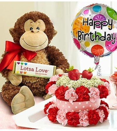 Lotsa Love® Birthday Bundle Shortcake