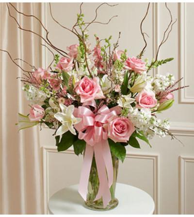 Beautiful Blessings Vase Arrangement - Pink