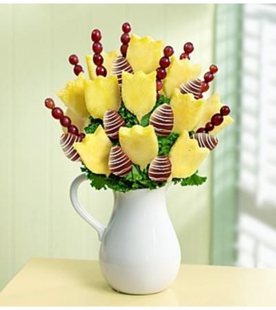 Love & Remembrance Sympathy Fruit Bouquet