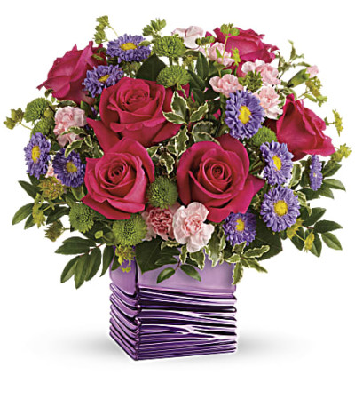 Teleflora's Lavender Waves Bouquet