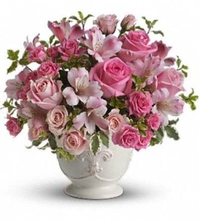 Pink Potpourri Centerpiece