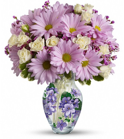 Teleflora's Very Violet Bouquet