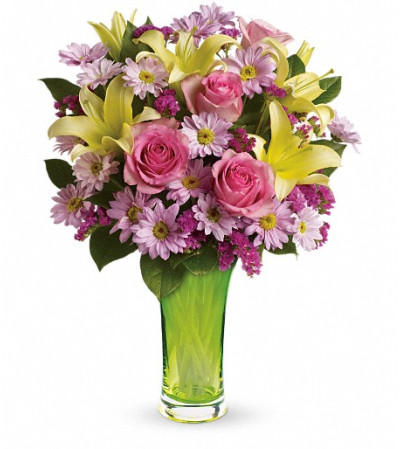 Teleflora's Bring On Spring Bouquet