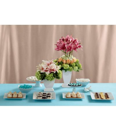 The FTD® Life's Sweetness™ Centerpiece