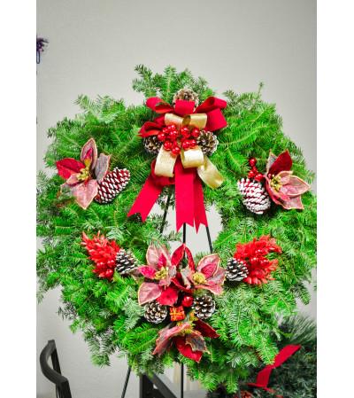 Florist Designed Christmas Wreath