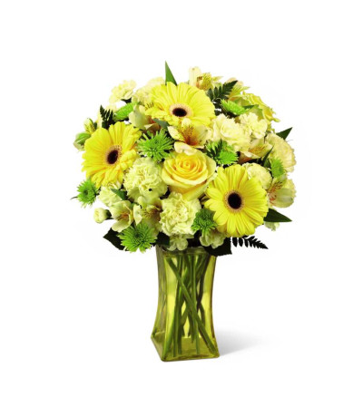The FTD® Lemon Groove Bouquet