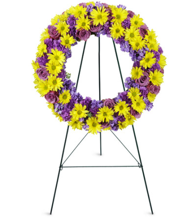 Sunrise Daisy Wreath™