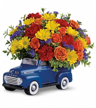 Teleflora's '48 Ford Pickup Bouquet