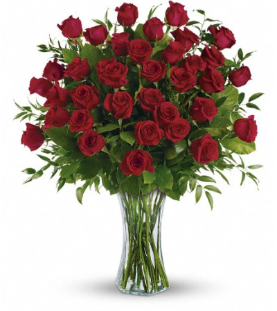 Breathtaking  - 3 Dozen Long Stemmed Roses