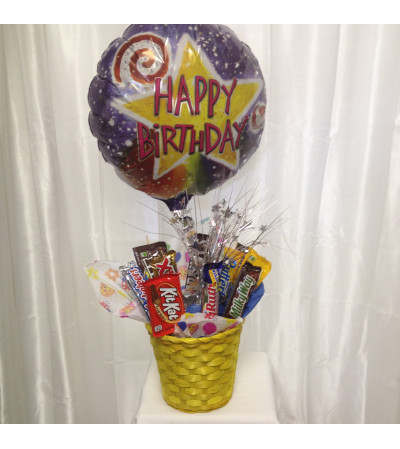 CHOCOLATE CANDY BASKET
