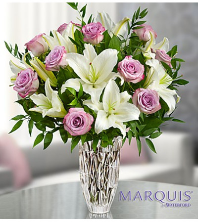 Marquis by Waterford® Purple Rose & Lily