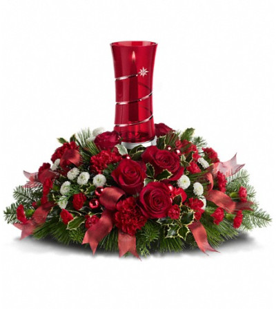 Teleflora's Star Bright Centerpiece