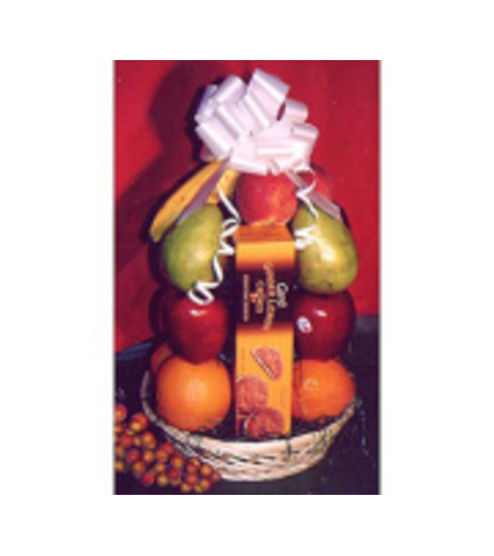 Fruit and Cookie Basket