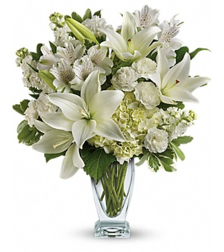 lovely white blooms