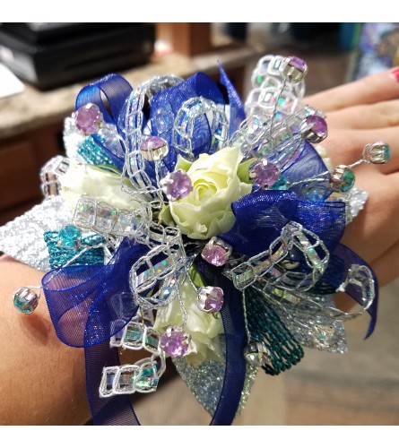Flare at Midnight Corsage