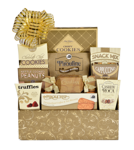 Golden Impression Gift Basket