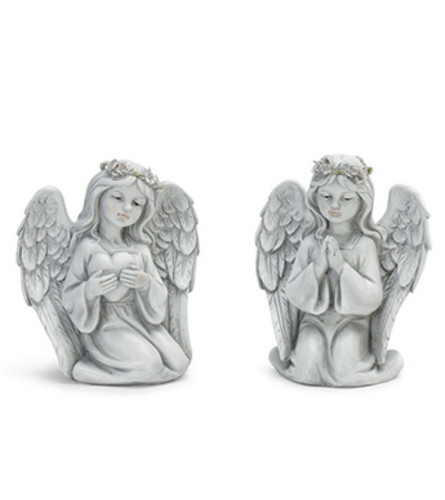 Praying and Heart Angels