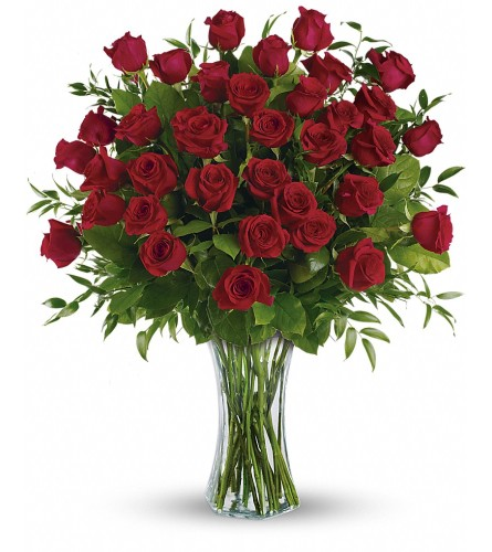 Breathtaking Beauty Red Roses
