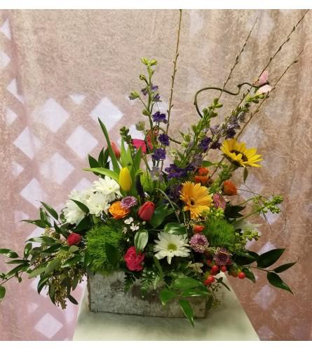 Spring Garden Box